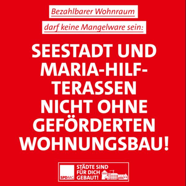 Gefördertes Wohnen mit der SPD